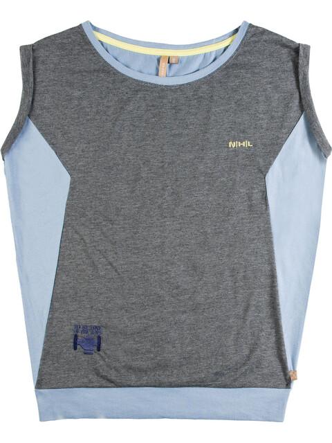 Nihil Marie Rose t-shirt Kinderen grijs